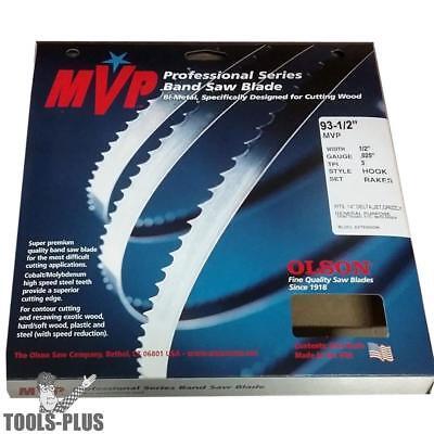 93-12 X 12x 3 Tpi Premium Band Saw Blade Olson Mvp82393 New