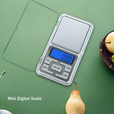 Pocket Mini Digital LCD Scale Jewelry Silver Coin Grain Balance Weight 200gx0.1g