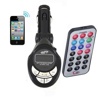 Auto Wireless MP3 Player FM-Sender Radio USB SD CD Adapter Hören Sie Musik (Sie Mp3)