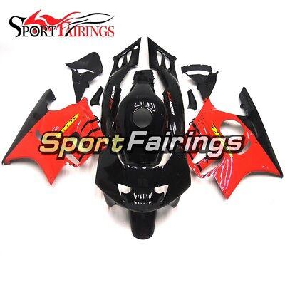 ABS Injection Fairings For Honda CBR600F3 1995 1996 Body Kit Red Black Bodywork