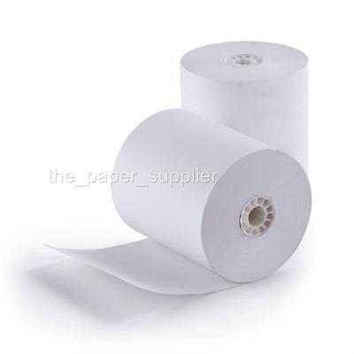 3-18 X 230 Thermal Receipt Paper Rolls Case Of 50 Pos Cash Register Bpa Free