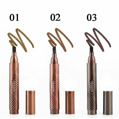 Makeup Head Eyebrow Pencil Tattoo Pen Flat Tip Fine Sketch Tint Enhancer Tool](Makeup Sketch)