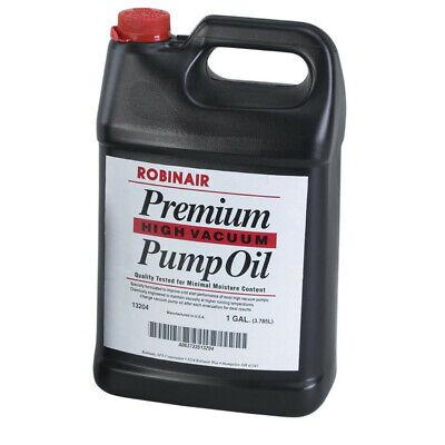 Robinair 1 Gal. Premium High Vacuum Pump Oil 4-pack 13204 New