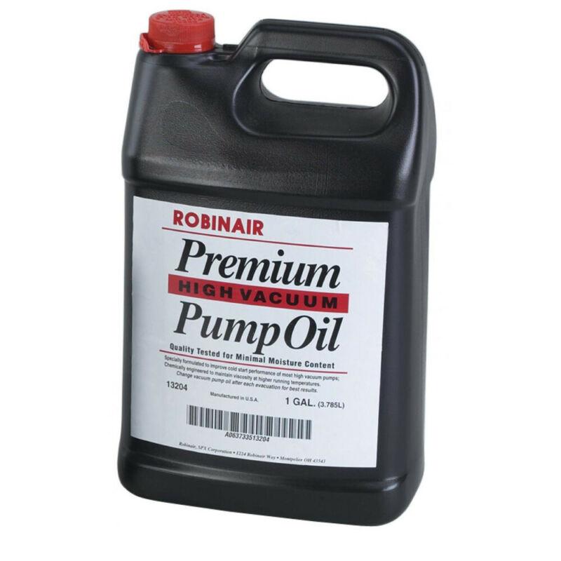 Robinair 1 Gal. Premium High Vacuum Pump Oil (4-Pack) 13204 NEW