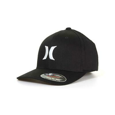 Hurley One & Only Cap Black/White Hurley Men's Accessories Casual Hats