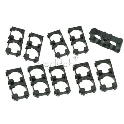 41050pcs 1x2 Battery Spacer 18650 Radiating Shell Pack Plastic Heat Holder
