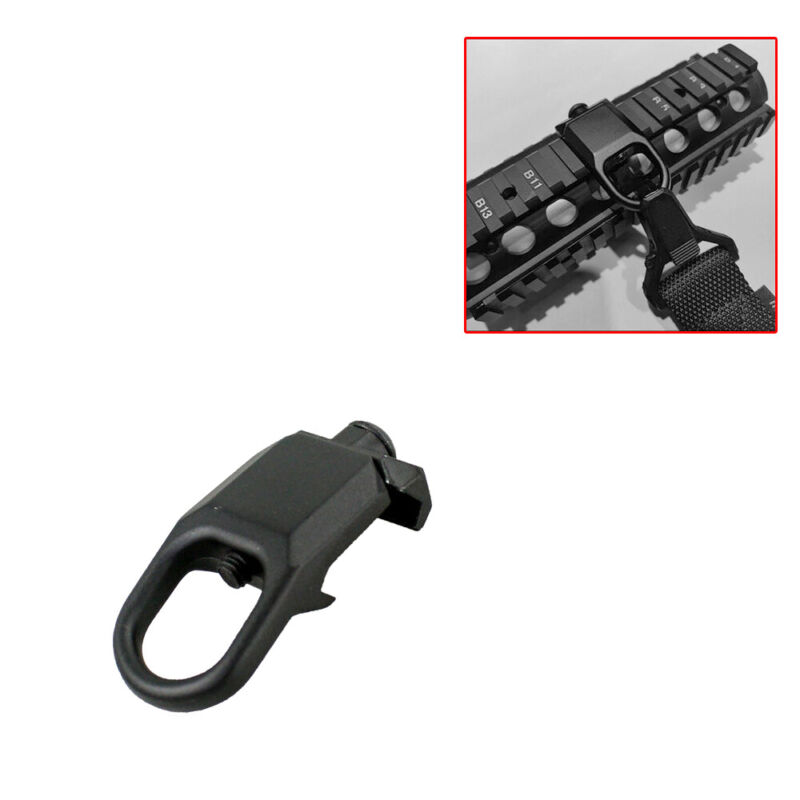 Quick Detach Sling Mount Plate Attachment 20mm Picatinny Rail Adapter US