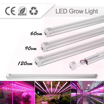 2FT-4FT T8 LED Plant Grow Light Tube Full Spectrum Pot Plant Hydroponics Light