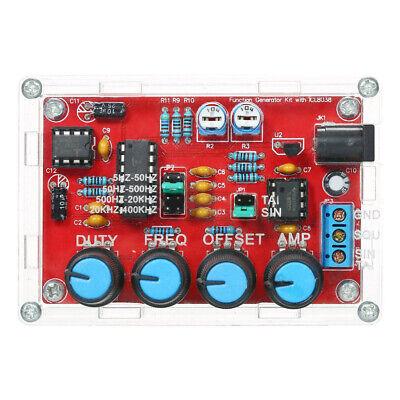 Professional Icl8038 Function Signal Generator Sine Triangle Wave Diy Kit L2u1