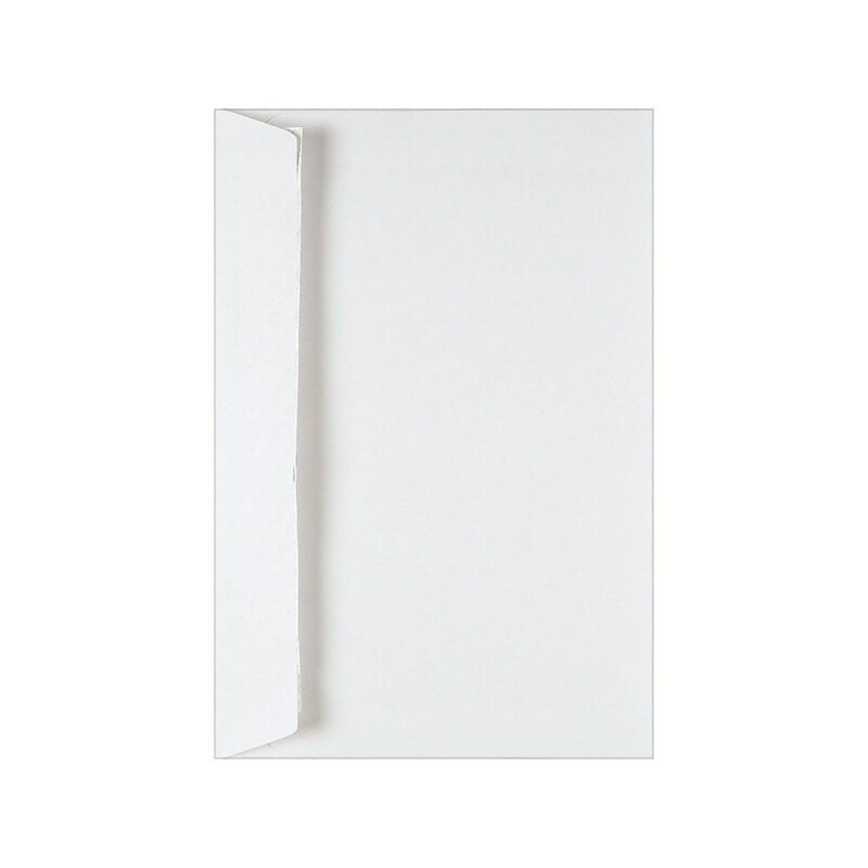 """Staples Wove Side-Opening EasyClose Booklet Envelopes 6"""" x 9"""" White 250/Box"""