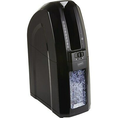 Staples Space-saver 10-sheet Cross-cut Shredder Black 56327