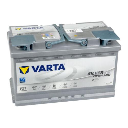 VARTA H15 Silver Dynamic AGM 605 901 095 Autobatterie 105Ah *einsatzbereit*