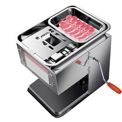 3.5mm Meat Commercial Cutter Processing Machine Safty For Home Restaurant