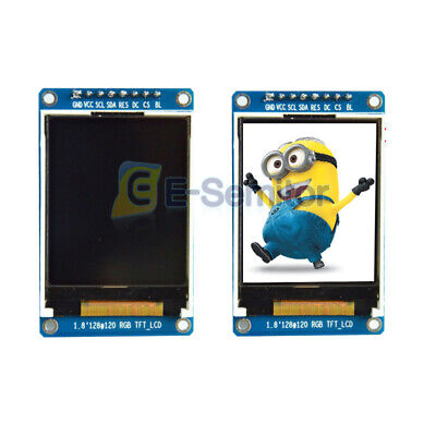 1.8tft Lcd Display Module Full Color 128x160 Serial Spi St7735s For Arduino
