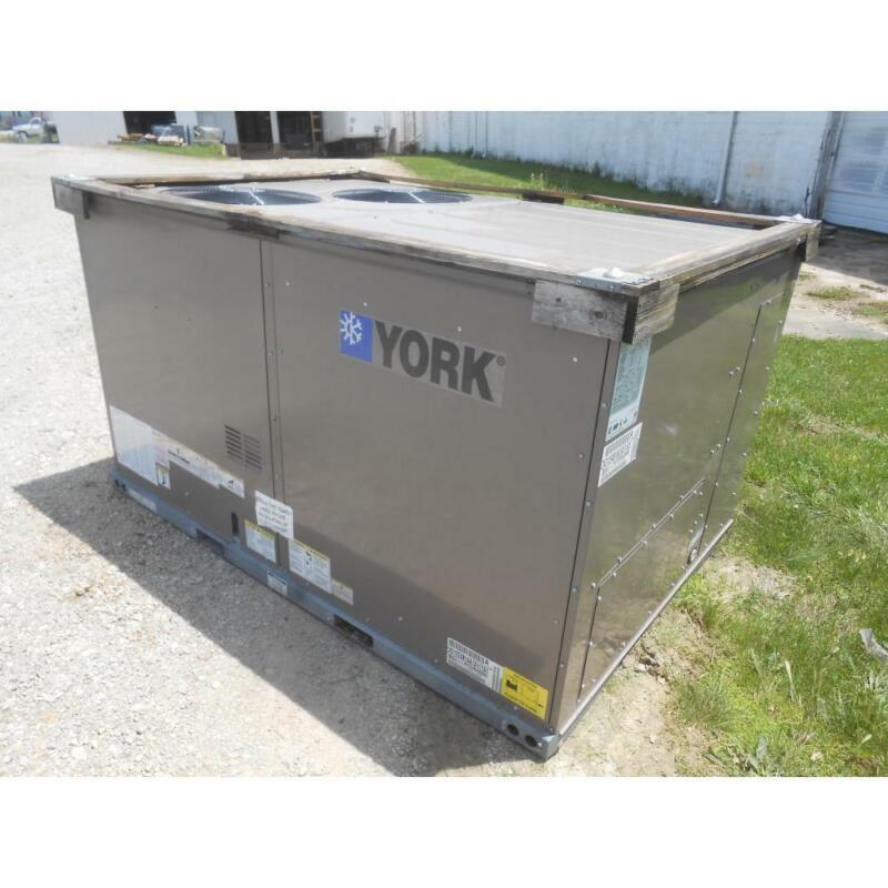 "YORK ZXG12E4B1AA1A111A1 10 TON ""PRESTIGE"" 2 STAGE ROOFTOP GAS/ELEC AC, 11.5 EER"