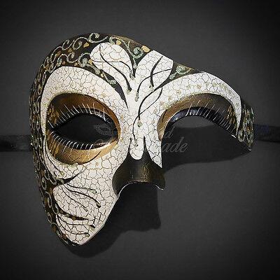 Creative design Phantom for men Masquerade Mask Costume Prom Party Mask - Creative Costume For Men