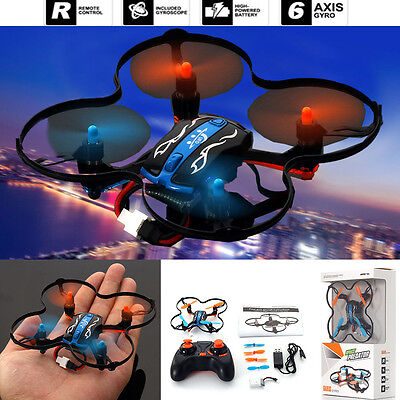 Gift Mini Rc Quadcopter Ufo 2 4Ghz 4Ch 6 Axis Gyro Nano Helicopter Drone Rtf Toy