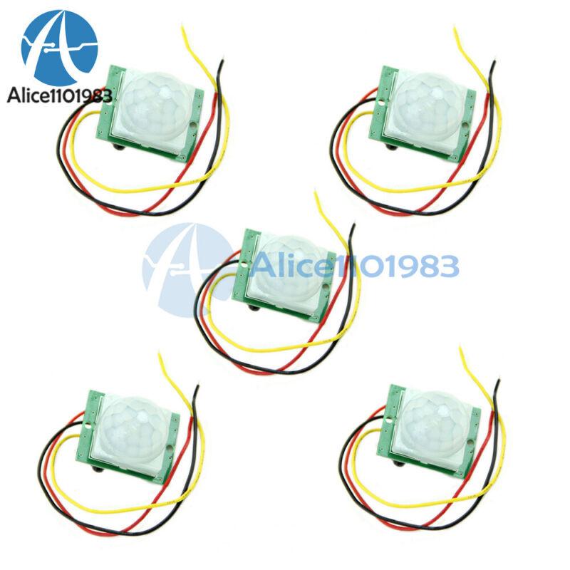 1-10PCS DC 12V PIR IR Infrared Pyroelectric TDL718A IR Motion Sensor Detector