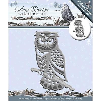 WINTER OWL Die Cutting Die Find It Trading Amy Design ADD10083 New (Winter Owl)
