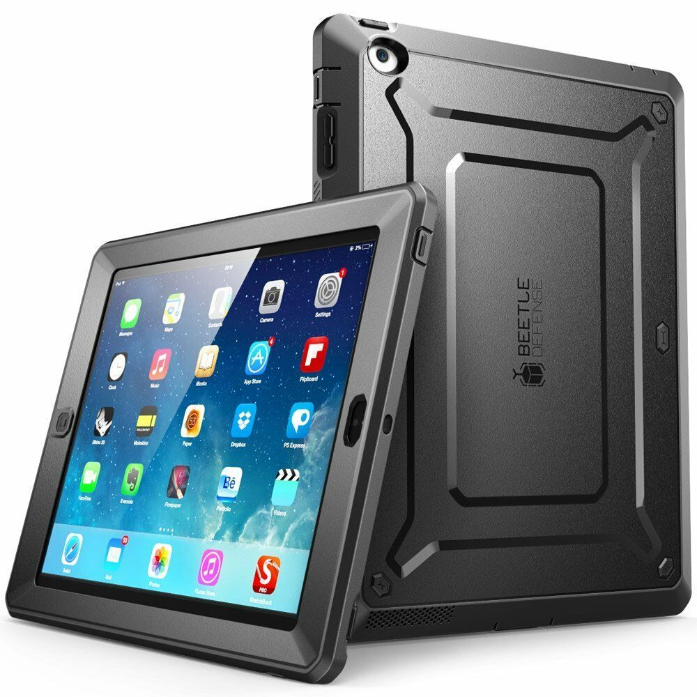 iPad 2/3/4 Case SUPCASE Case Cover Unicorn Beetle PRO Built-in Screen Protector