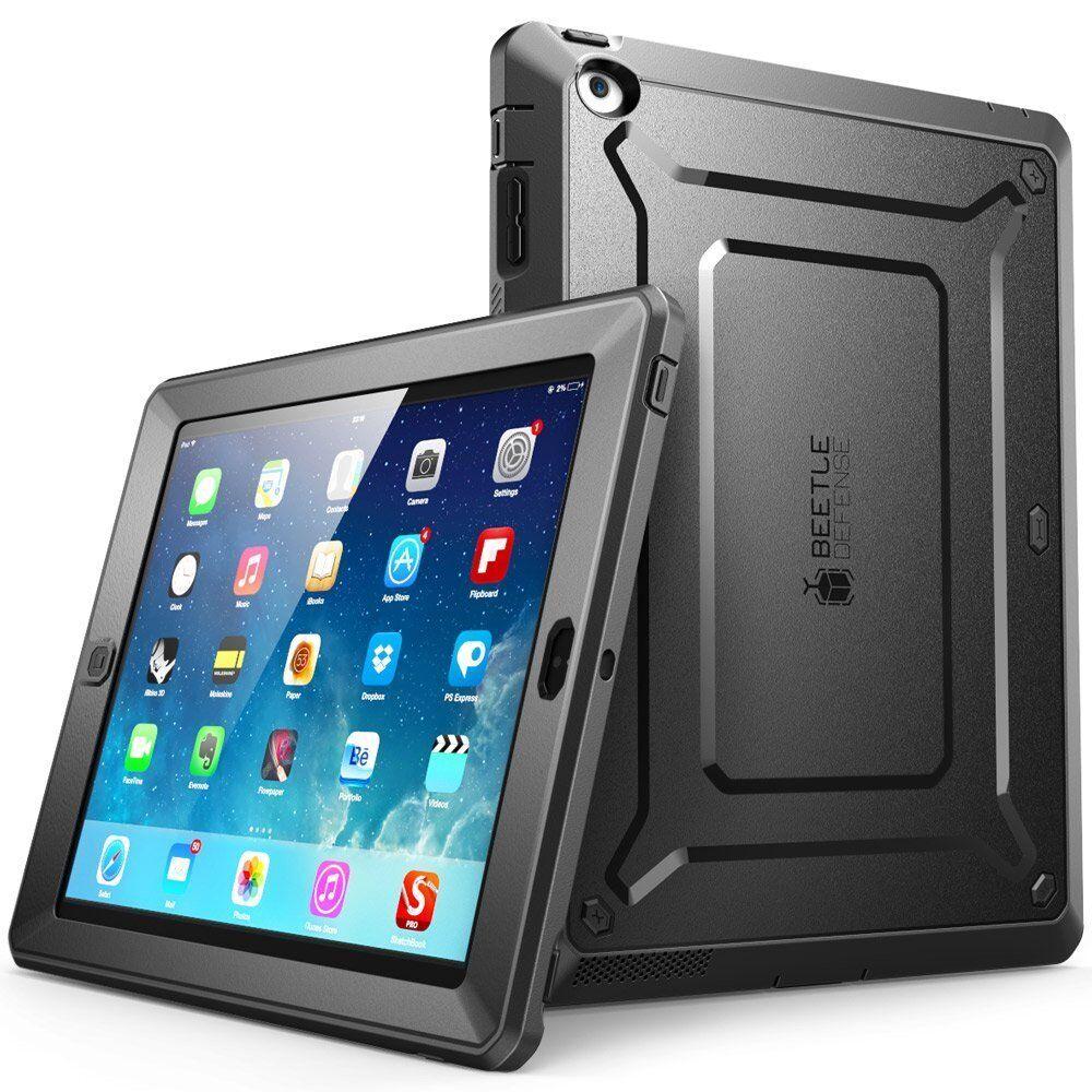 iPad 2/3/4 Case SUPCASE Case Unicorn Beetle PRO Built-in Screen Protector
