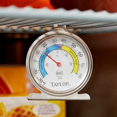 Taylor Freezerrefrigerator Thermometer 5924 Free Shipping Us Only