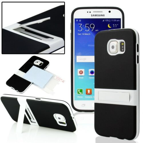 Купить globalhotsale 2 Layer Heavy Duty Hybrid Series Hard Case Cover - Shockproof Hybrid Rugged Glossy Hard Case Cover For Samsung Galaxy S6 / S6 Edge