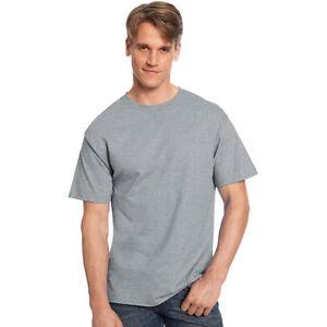 e5a3b4383ee2 Hanes 5250 Tagless T-shirt Size 6xl Light Steel Grey
