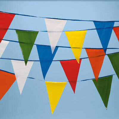 Multi-colored Pennant String 105l - Banner String Flags