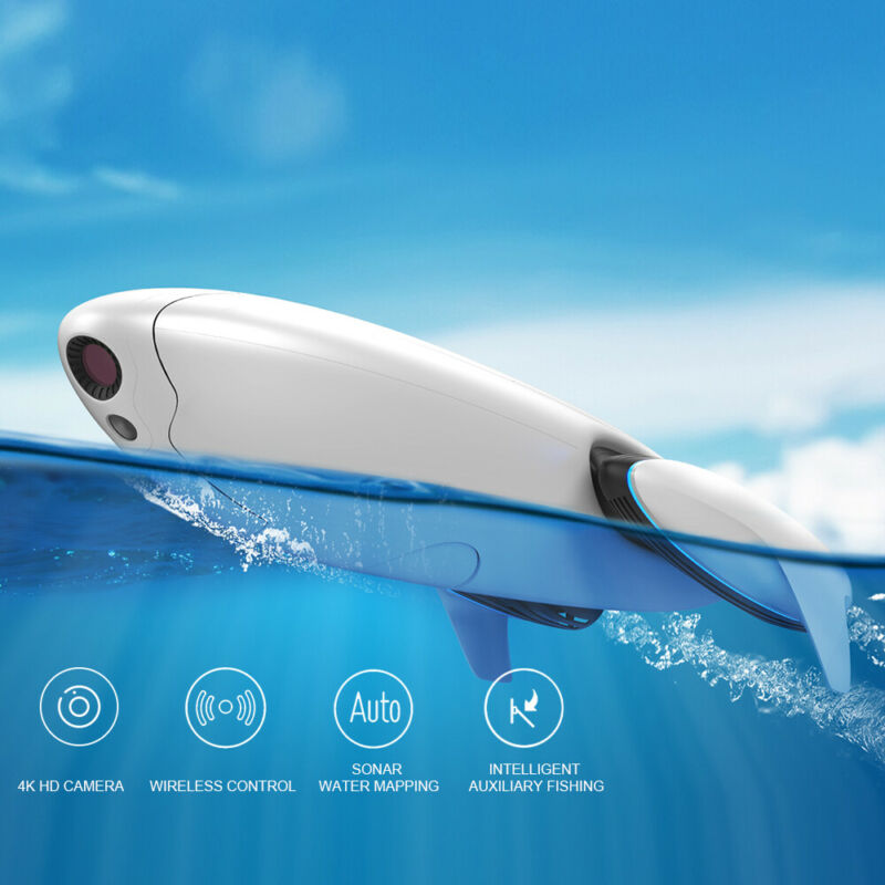Dolphin Underwater Drone 4K HD Camera Fishing Robot Waterproof Wireless Control