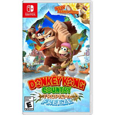 New Seal Donkey Kong Country: Tropical Freeze, Nintendo, Nintendo Switch, 045496