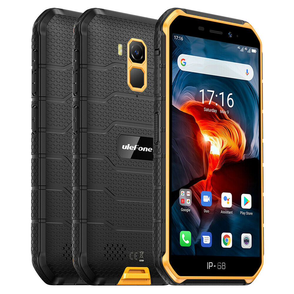 Android Phone - Ulefone Armor X7 Pro Rugged Mobile Phone Android 10 4G Smartphone Waterproof NFC