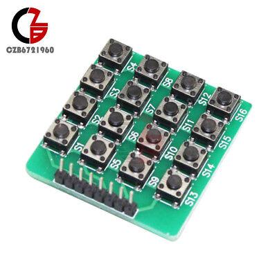 2pcs Green 4x4 44 Matrix 16 Keypad 16 Botton Keyboard Module Mcu Board Arduino