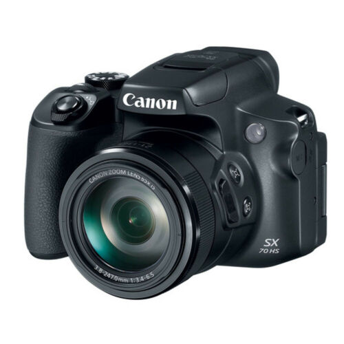 Canon PowerShot SX70 HS 20.3MP 4K Digital Camera with 65x Optical Zoom 3071C001
