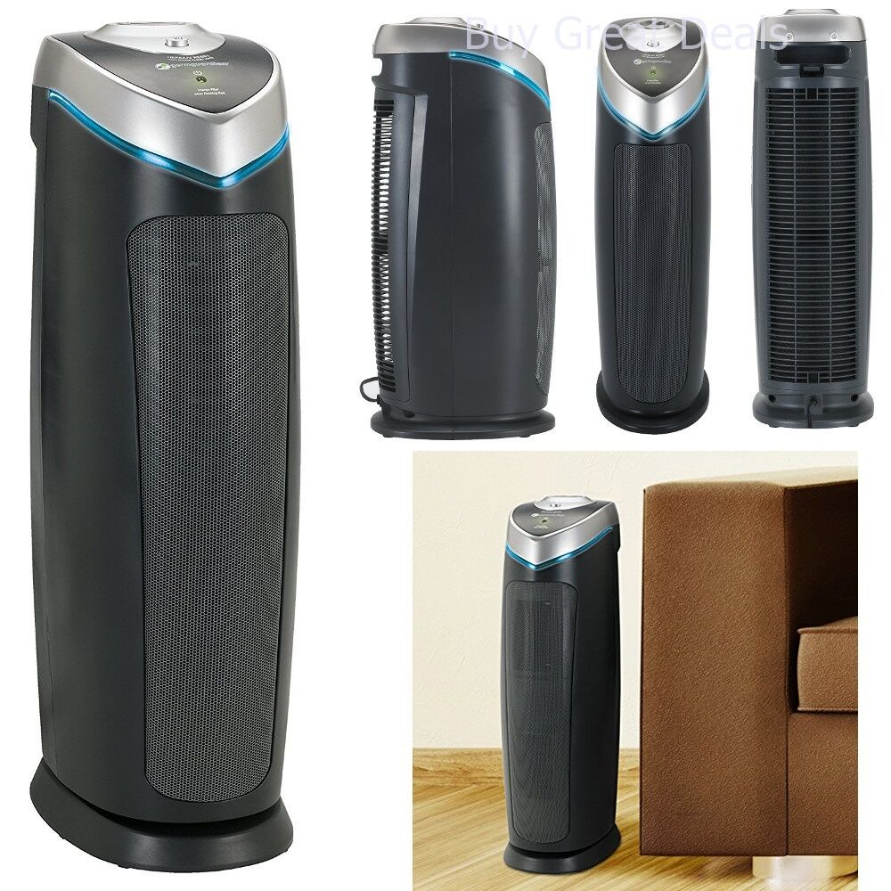GermGuardian 3-in-1 Air Cleaning System Purifier HEPA Odor Reducer - NEW