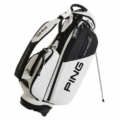 PING Golf Men's Stand Caddy Bag 9.5 x 47 inch 4.2kg White Bl