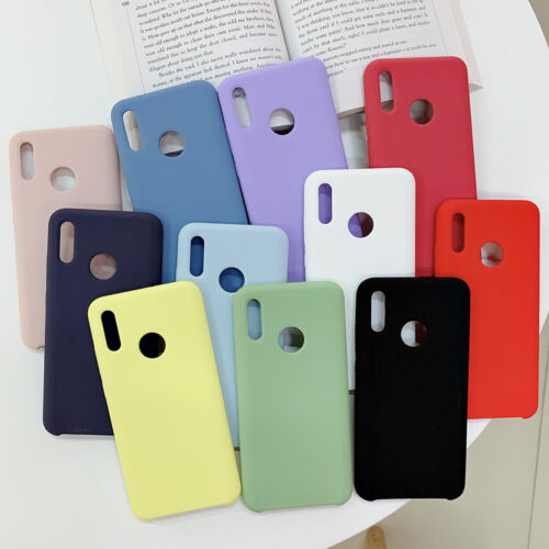 the best attitude d70a7 aafef Details about fits Huawei P Smart 2019 / Honor 10 Lite Silicone Case  Microfiber Protect Cover