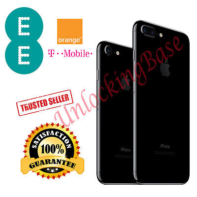 ORANGE / EE  / T-MOBILE UK  IPHONE 4 / 4S / 5 ONLY 100% FACTORY UNLOCK SERVICE