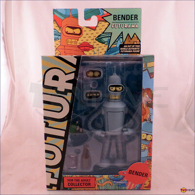 Futurama Bender 6-inch action figure Encore Edition figure by Toynami