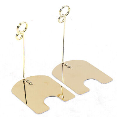 30 8-shape Memo Clip Holder Display Stand Mini Photo Message Card Clip Stand