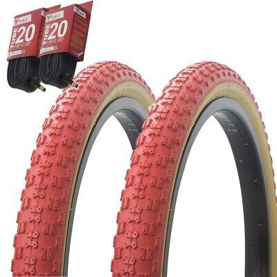 "1 PAIR NEW DURO Blue Bicycle Tire 20/"" 1.75//1.85//1.95 BMX Cruiser Kids Bike"