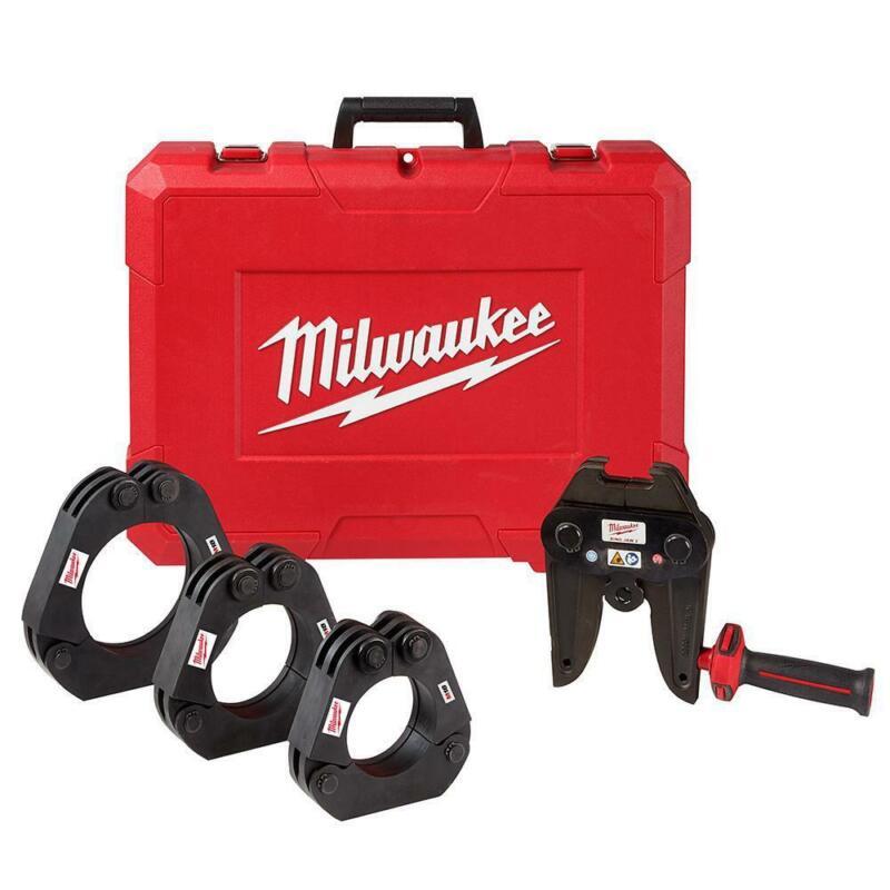 """Milwaukee 49-16-2698 M18 2-1/2"""" - 4"""" IPS XL Ring Kit FORCE LOGIC Long Press Tool"""