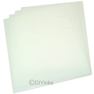 """50 Sheets 100 Micron Water Proof Inkjet Translucent Film  13"""" x 19"""" 4 mil"""