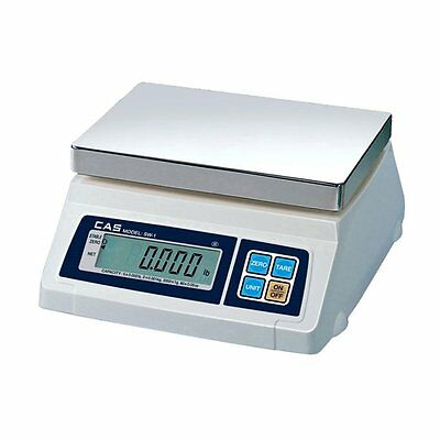 Cas Sw-50 Portion Control Scale 50lb Nteplegal For Trade Brand New