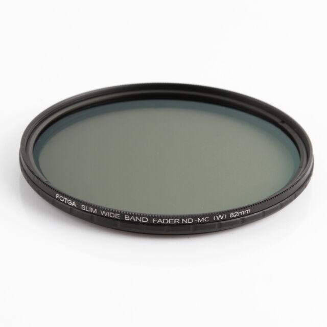 FOTGA 58mm Slim Fader ND-MC Variable MC ND Filter ND2 to ND400 Neutral Density