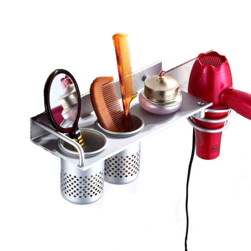 Blow Dryer Holder Station Curling Flat Iron Salon Applian...