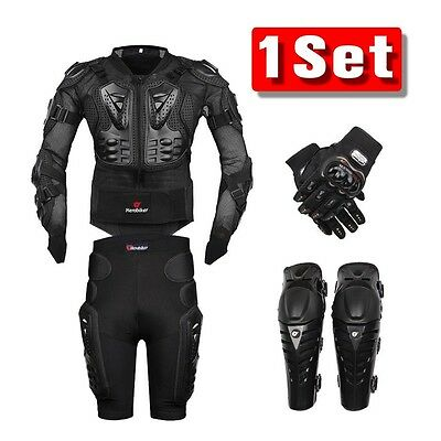- Motorcycle Full Body Armor Bike Jacket Motocross Chest Guard Protection Gear