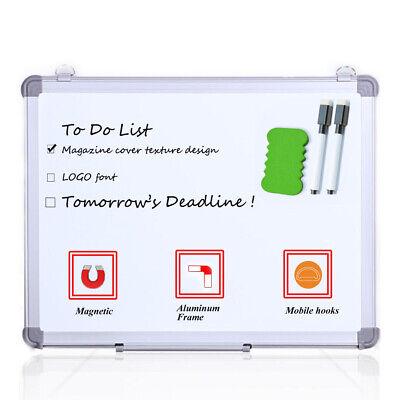 Viz-pro Small Dry Erase Board Magnetic Whiteboard 18 X 12 Inches Home School