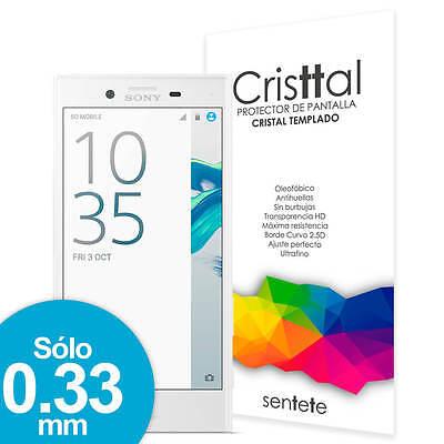 Sentete® Sony Xperia X Compact Protector de Pantalla de Cristal Templado PREMIUM