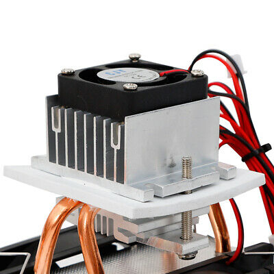 Diy Kit Refrigeration Thermoelectric Module Peltier Water Cooler Cooling System